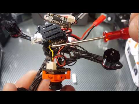 ChopShop UFO- *First Brushless Build*The Eagle 120 Pt1 (The Build)