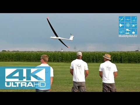 [4K] 2X ASH 31 MI 1:3 RC SCALE GLIDER FW-MODELS AEROBATIC FLIGHT MATTHIAS PAUL & PASCAL HEIL