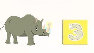 Би-Би Знайки – Цифра 3 - мультфильм про машинки – учим алфавит