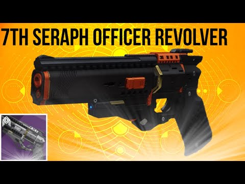 Seventh Seraph Officer Revolver - Rasputin Bunker Hand Cannon