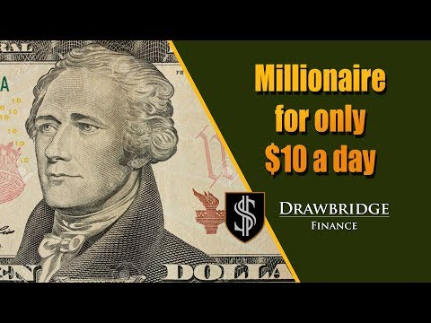 How To Become A Millionaire Investing 10$ A Day: Million Dollar Stock Portfolio