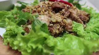 Món thịt Lợn giả thịt Dê (The Pork mixing - Chạo thịt Heo )
