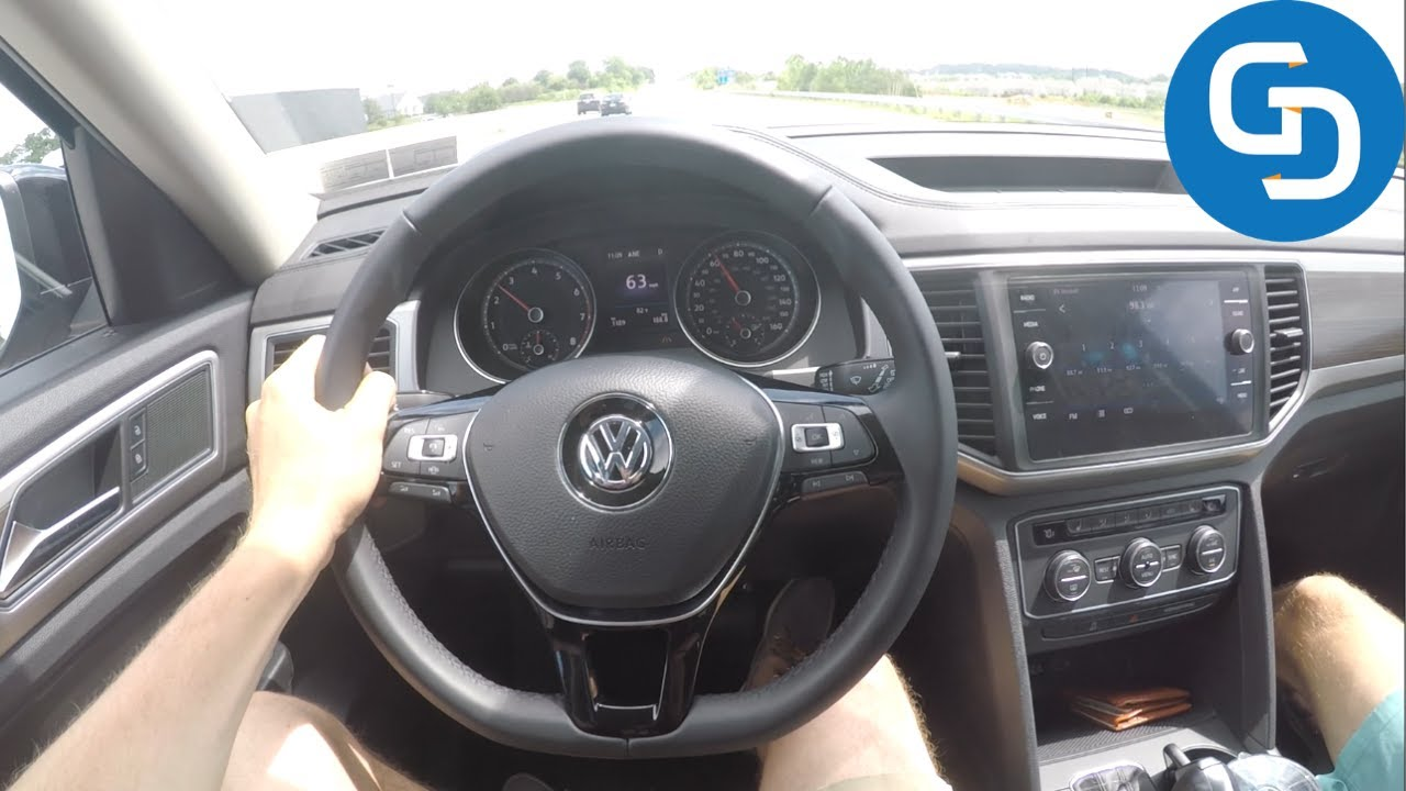 What's It Like to Drive the 2019 Volkswagen Atlas?