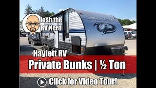 UPDATED 2020 Grey Wolf 29BH Private Bunk Mega Camp Kitchen Half Ton Family Travel Trailer