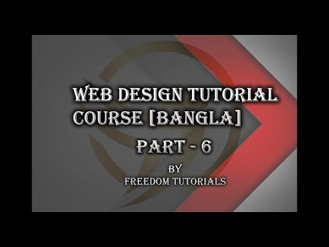 Web design tutorial for beginners part 6 bangla || CSS3 Layout thumbnail