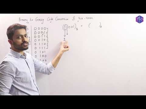Lec-9: Binary to Gray Code Conversion & Vice-versa
