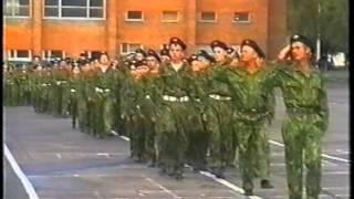 Часть 2 - Марш Корпуса с курсантами КВКУРЭ ПВО.