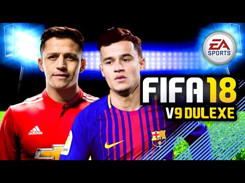 FIFA 18 Mod FIFA 14 V9 Deluxe Android Offline New Face Update Squad Update
