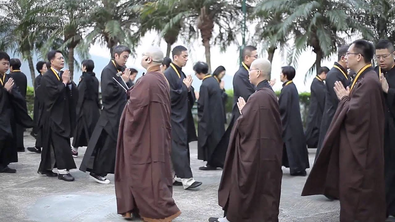 法性講堂2013八關齋戒 (高清) - YouTube