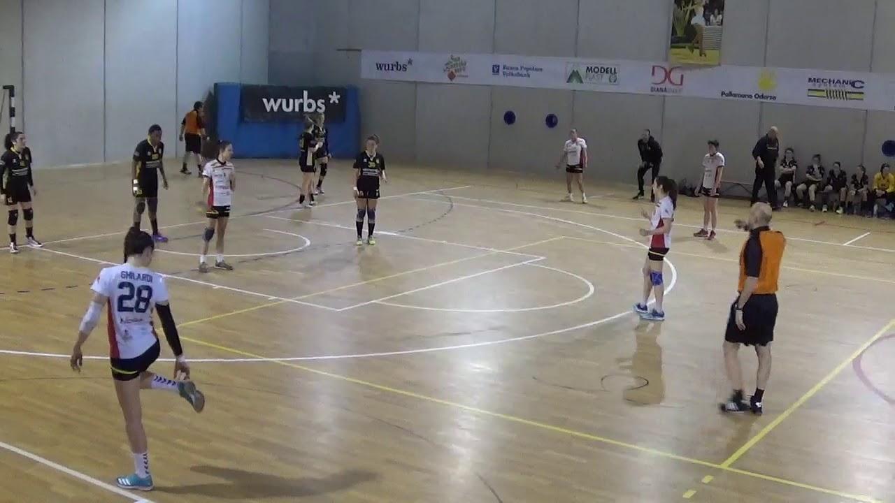 Serie A1F [16^]: Oderzo - Dossobuono 27-23