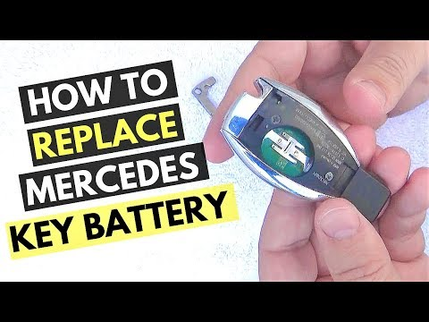 Mercedes Key Battery Change >> How To Replace Mercedes Key Battery Demo Tips Tricks