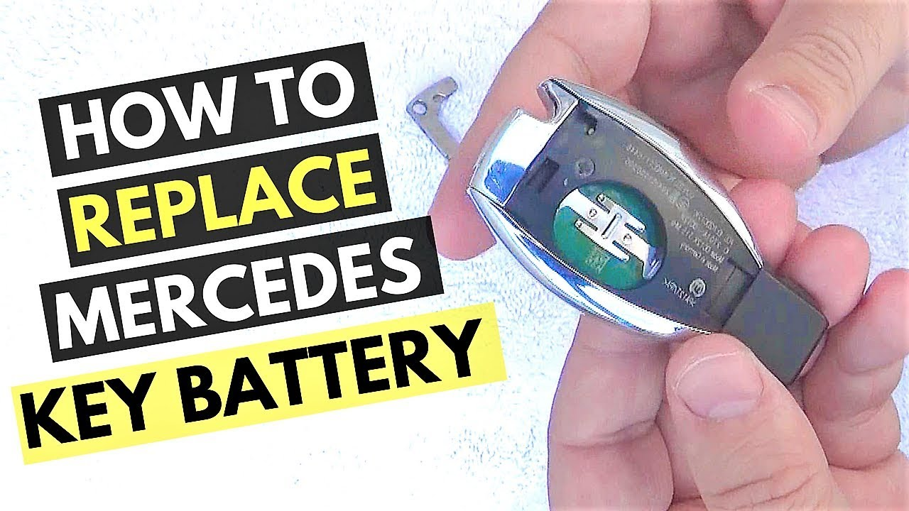How to Replace Mercedes Key Battery Demo: Tips & Tricks ...