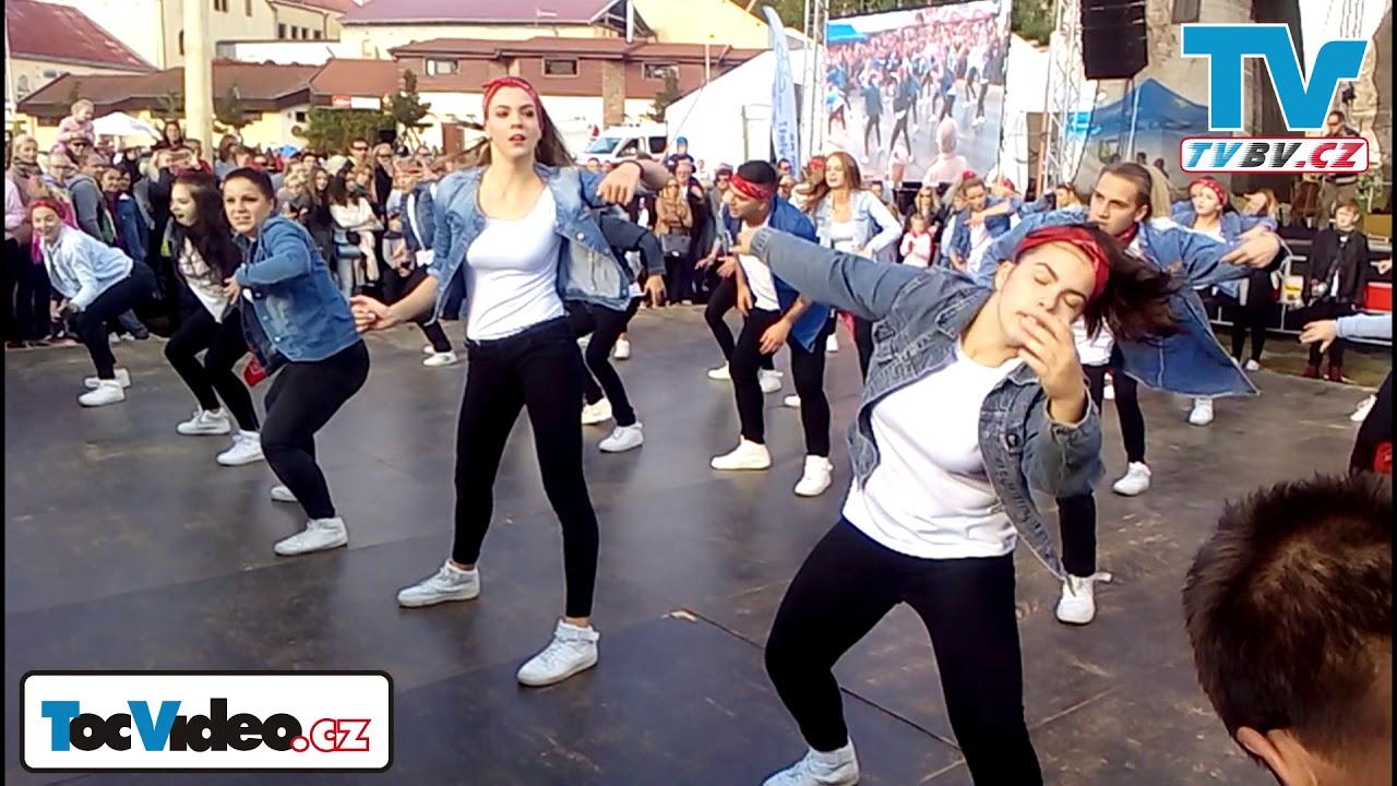 Taneční vystoupení N. C. O. D. a E. M. Dancers - Břeclav 2018