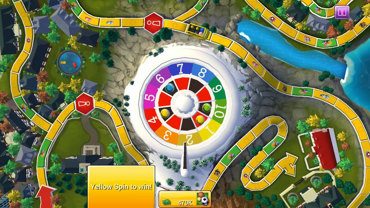 The Game Of Life Spin To Win Youtube