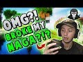 BREAKING MY $80 MOUSE IN RAGE! ( Hypixel Skywars FUNNY MOMENTS )