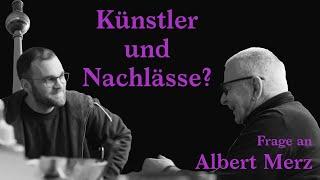 Künstler und Nachlässe? Albert Merz im Gespräch (Ausschnitt)