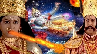 Demon Mahisasur Come To Fight Maa Sherawali By Changing His Form || English Subtitle Hindi Serial ||