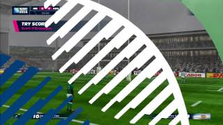 Rugby World Cup 2015 Gameplay Ireland vs Argentina PS3 HD