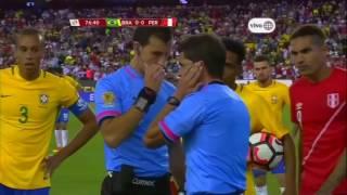 """Peru vs Brasil   (1-0) copa america centenario . min. 3.02  dondela """"pulga"""" ruidiaz se rie :v likee!"""