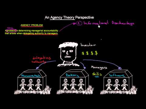 Agency Problem and Agency Theory Perspective | Introduction To Organisations | MeanThat