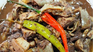 DINUGUAN | FILIPINO PORK BLOOD STEW | HOW TO COOK