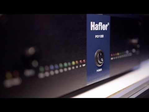 Hafler P3100 - NAMM 2016