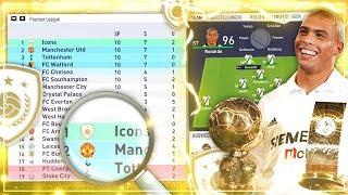 WÜRDE EIN ICON-TEAM DEN FUßBALL KOMPLETT DOMINIEREN!?? ⚽️🏆🧐 - FIFA 18 Experiment #14