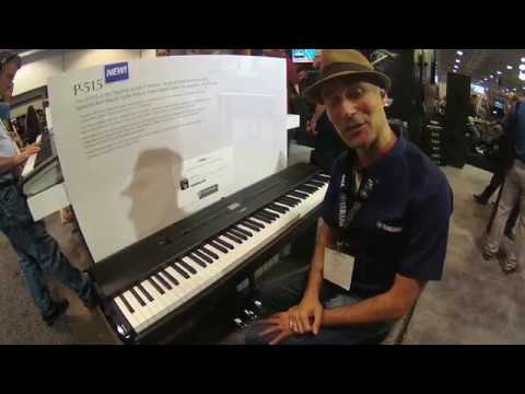 summer namm 2018 yamaha p 515 digital piano with gabriel aldort youtube. Black Bedroom Furniture Sets. Home Design Ideas