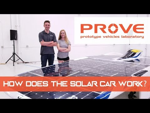 Cal Poly PROVE Lab - How Does the Solar Car Work?