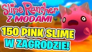 SLIME RANCHER Z MODAMI! #12 - 150 PINK SLIME W ZAGRODZIE!