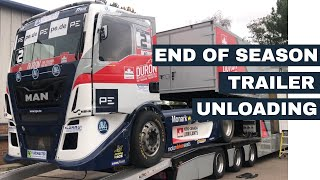 End of Season - Unload Race Trailer
