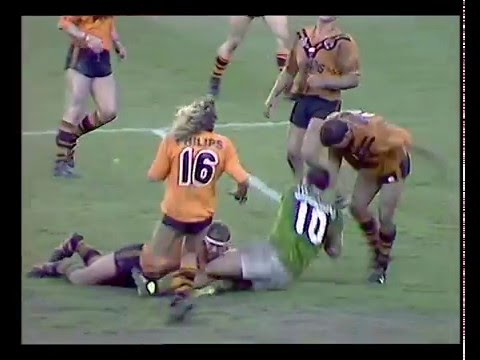 1989 Winfield Cup Grand Final Canberra Raiders vs Balmain Tigers Highlights