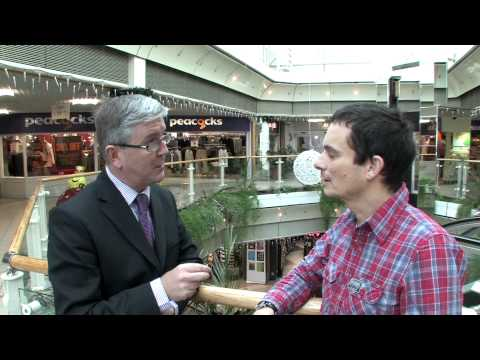 Strand shopping centre interview with John Shakespeare