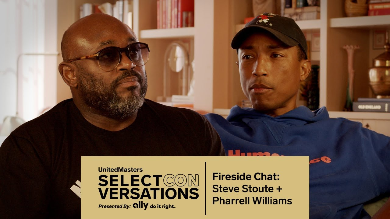 Pharrell Williams & Steve Stoute on Thriving in The Music Business and Black Ambition