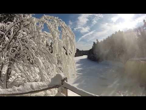 Tahquamenon Falls State Park - Upper Falls Winter