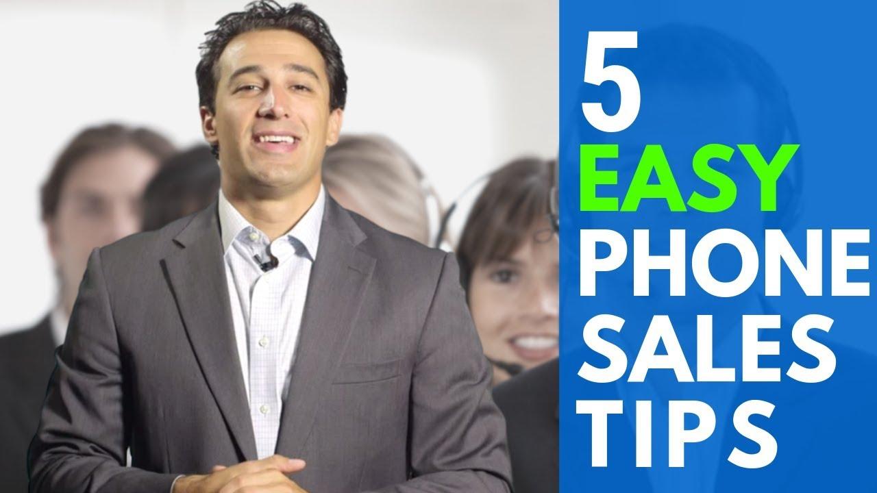 5 Easy Phone Sales Tips - YouTube