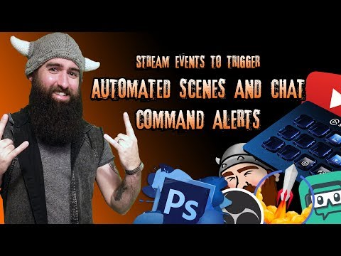 Create Multi Action Scenes / Alerts / Media, Triggered By Alerts / Chat Commands!!!