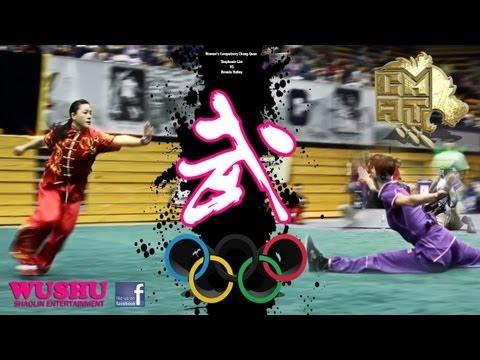 Chang Quan Compulsory 長拳 Women's Wushu Champion : Stephanie Lim 2013 CMAT 21
