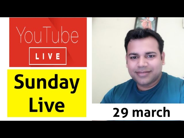 Live Q&A - 29 March Sunday LIVE - SBI Exam related DOUBTS
