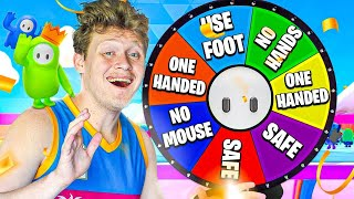 Spin The Wheel Of Fall Guys Challenges!