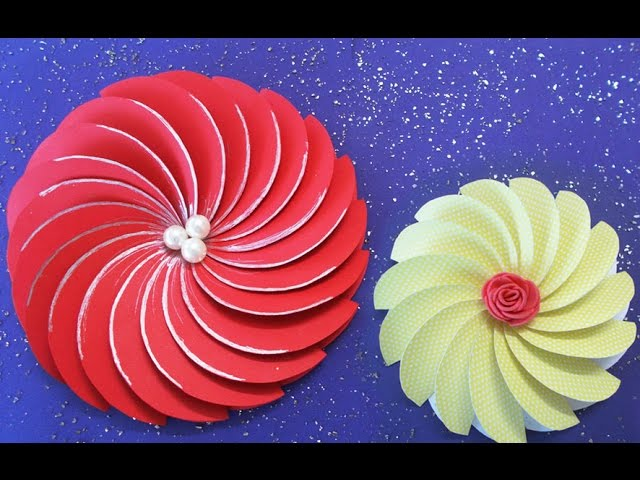 How to make easy paper spiral flower for diy projects 4 steps with how to make easy paper spiral flower for diy projects 4 steps with pictures solutioingenieria Gallery