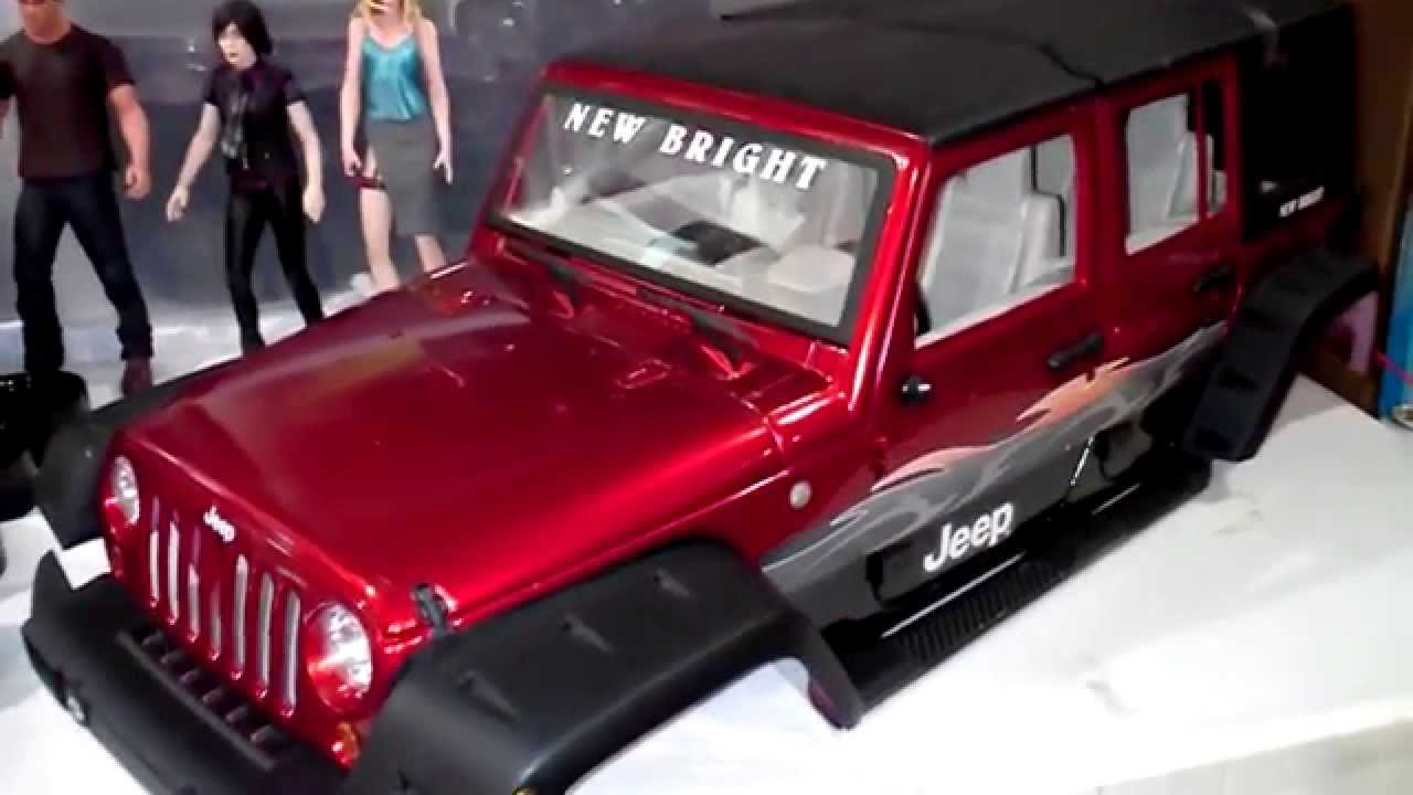 Build A Jeep >> Custom Axial scx-10 Jeep Rubicon 4x4 Unlimited w/New Bright Body - YouTube