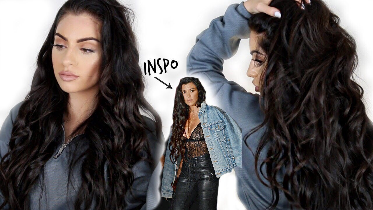 Watch - Kardashian Kourtney curly hairstyles pictures video