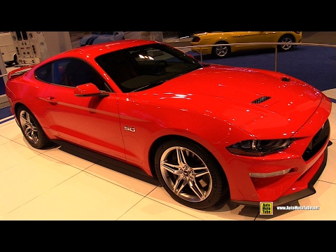 2018 Ford Mustang - Exterior And Interior Walkaround - 2017 Chicago Auto Show