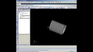 Построение резьбы в КОМПАС-3D