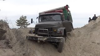 GAZ66 VS ZIL 131 off-road 4x4