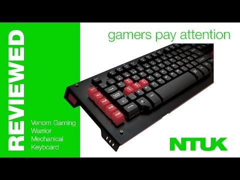 Venom Gaming Warrior Mechanical Keyboard {Review}