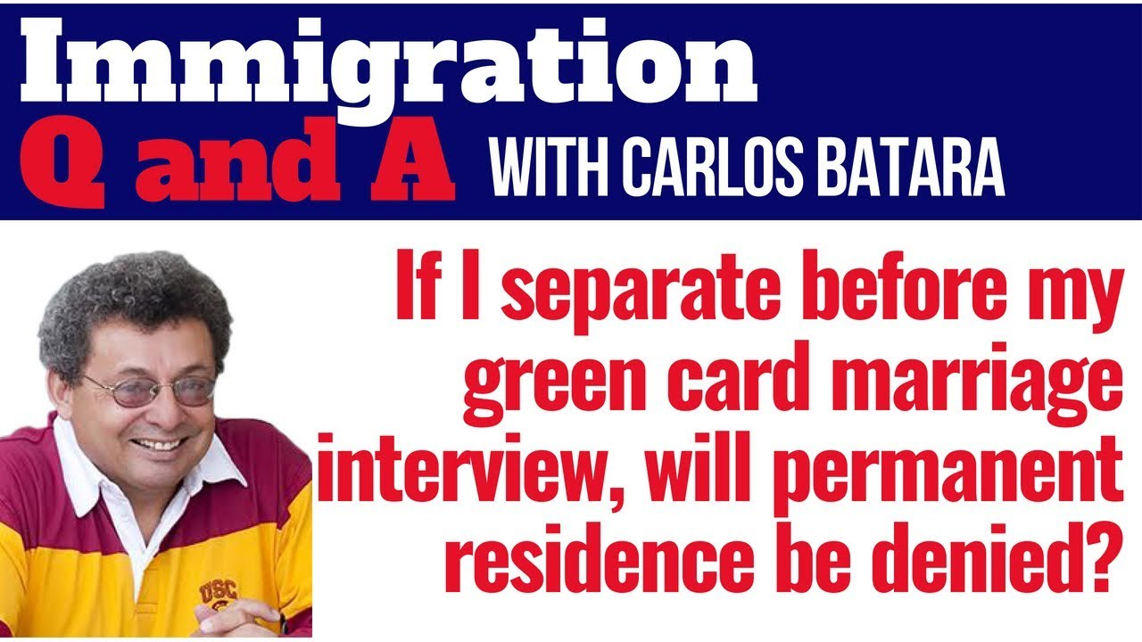 green card through marriage interview will i lose my