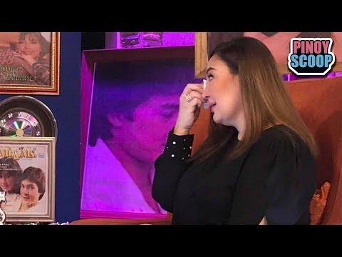 Sharon Cuneta Turns Emotional After Interview