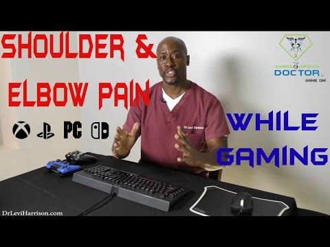 Shoulder & Elbow Pain While Gaming | Special Exercises